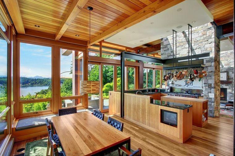 Intérieur maison bois : quels matériaux choisir ? | Maison en bois ...