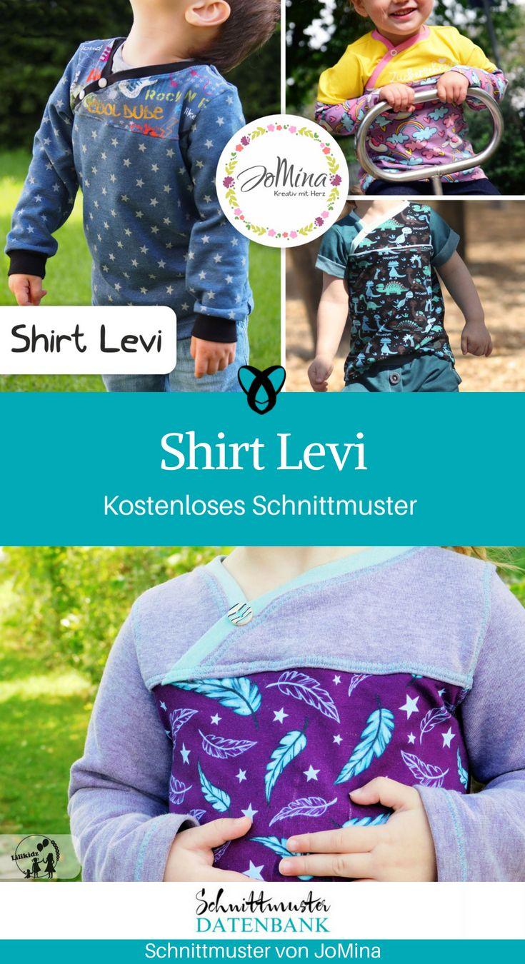 Shirt Levi #shirtschnittmuster