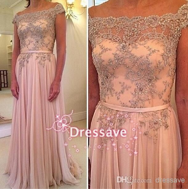 2015 Brush Pink Off The Shoulder A Line Prom Dresses | Buy Wholesale On Line Direct from China