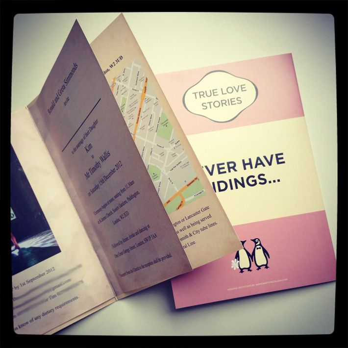 wedding-invitations-book-style.jpg (710×710)   Save the date ...