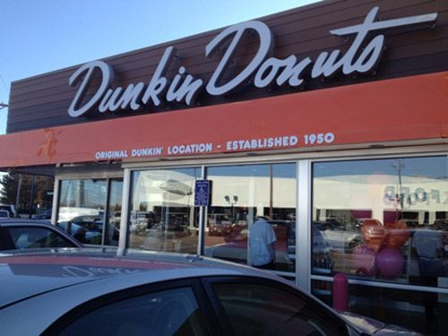 Original Dunkin Donuts In Quincy Goes Back To Its Roots With