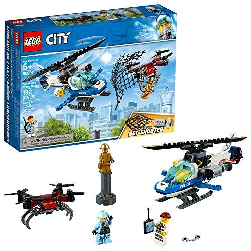 Lego City Sky Police Drone Chase 60207 Building Kit 192 Piece Lego City Lego City Police City Sky