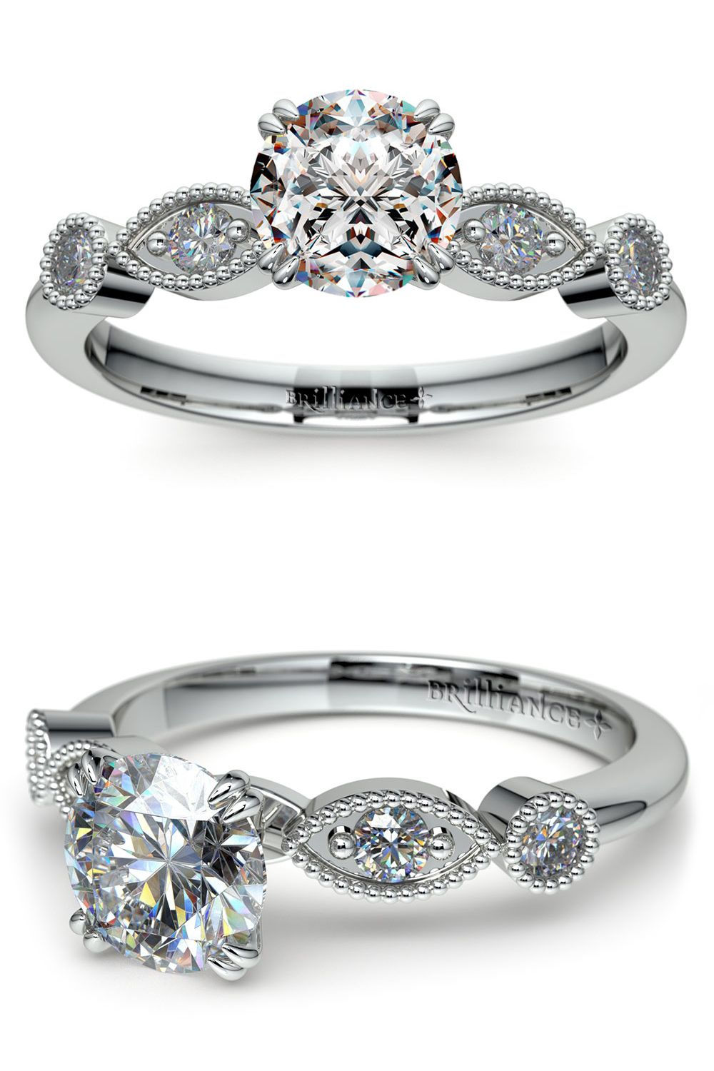 rings engagementdetails ring edwardian cfm in style engagement gold white diamond butterfly