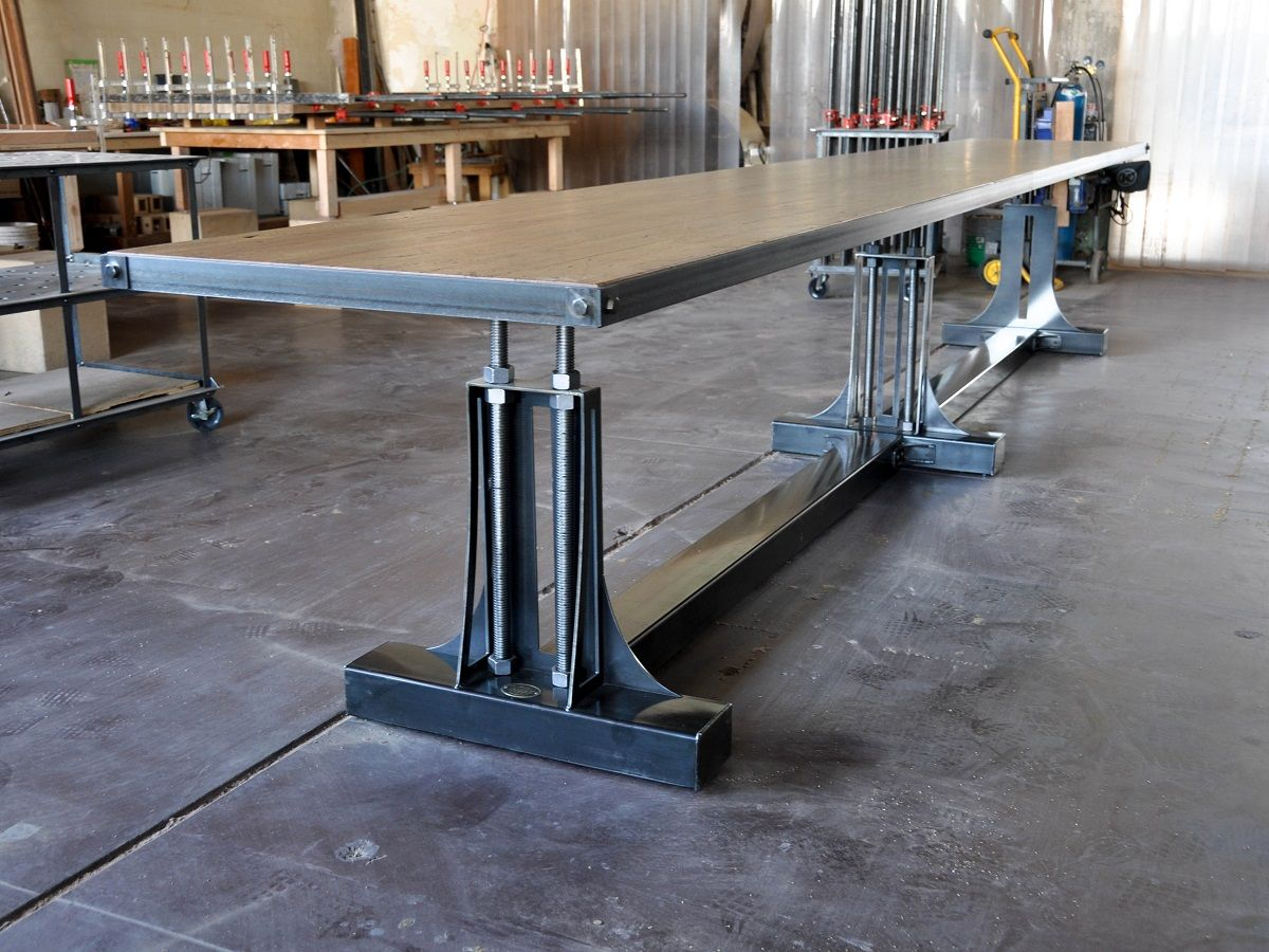 vintage industrial furniture tables design. Your Restaurant/bar Needs This. Long Uncrank Table In Bar Height, Designed And Built By Vintage Industrial Phoenix. Furniture Tables Design N