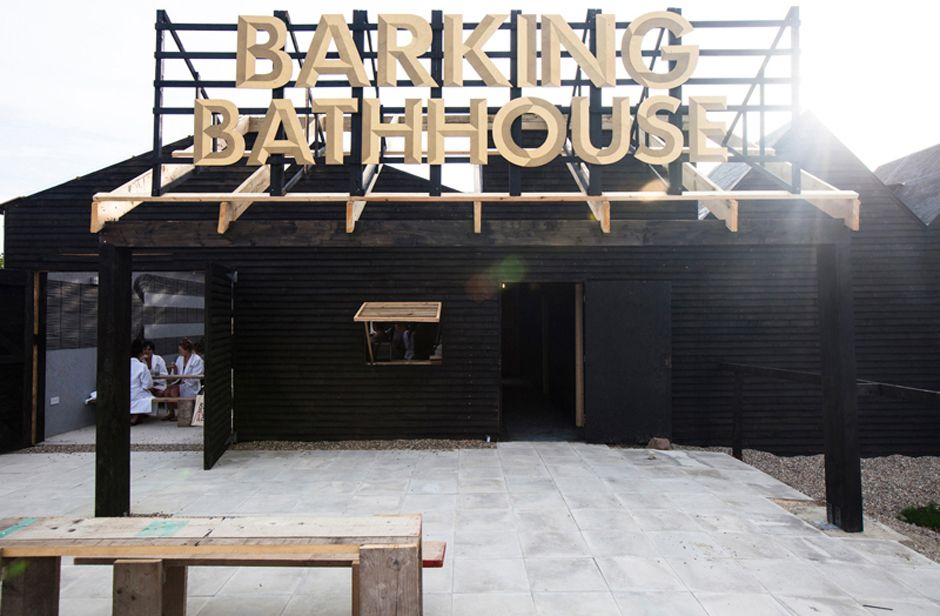 Barking Bathhouse by Something and Son