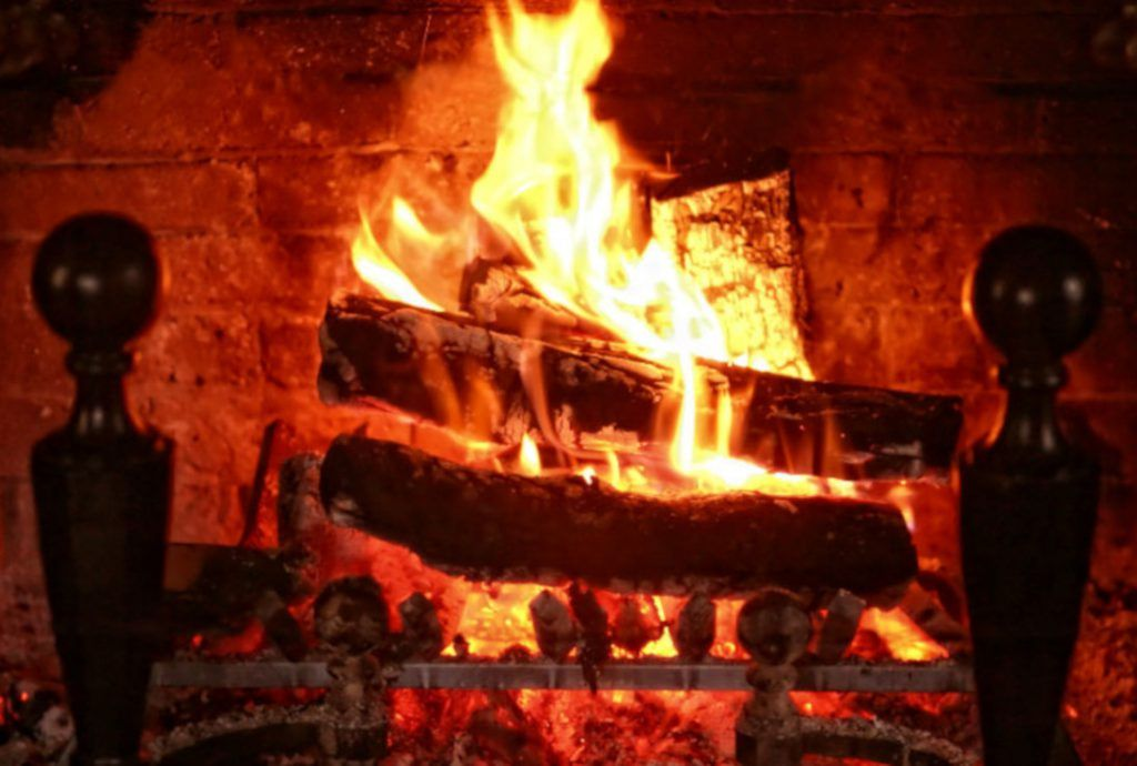 Fabulous Fireplace Video Loop The Yule Log Video Beautiful Beutiful Home Inspiration Truamahrainfo