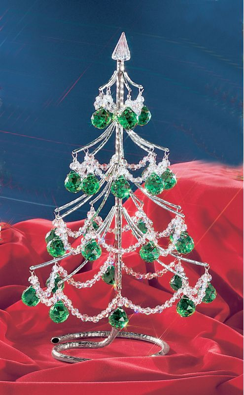 """Classic Lighting 1003-CH 16"""" Crystal Accessory from the Cheryls Christmas Trees Green Cut Balls Holiday Decor Freestanding Ornaments Small"""