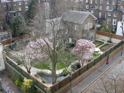 The last home of Freddie Mercury, Garden Lodge in Kensington
