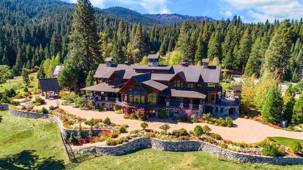 The luxury mountain ranch known as The Cedars is not only relatively isolated—it's also been slashed in price from $55 million to $25 million.