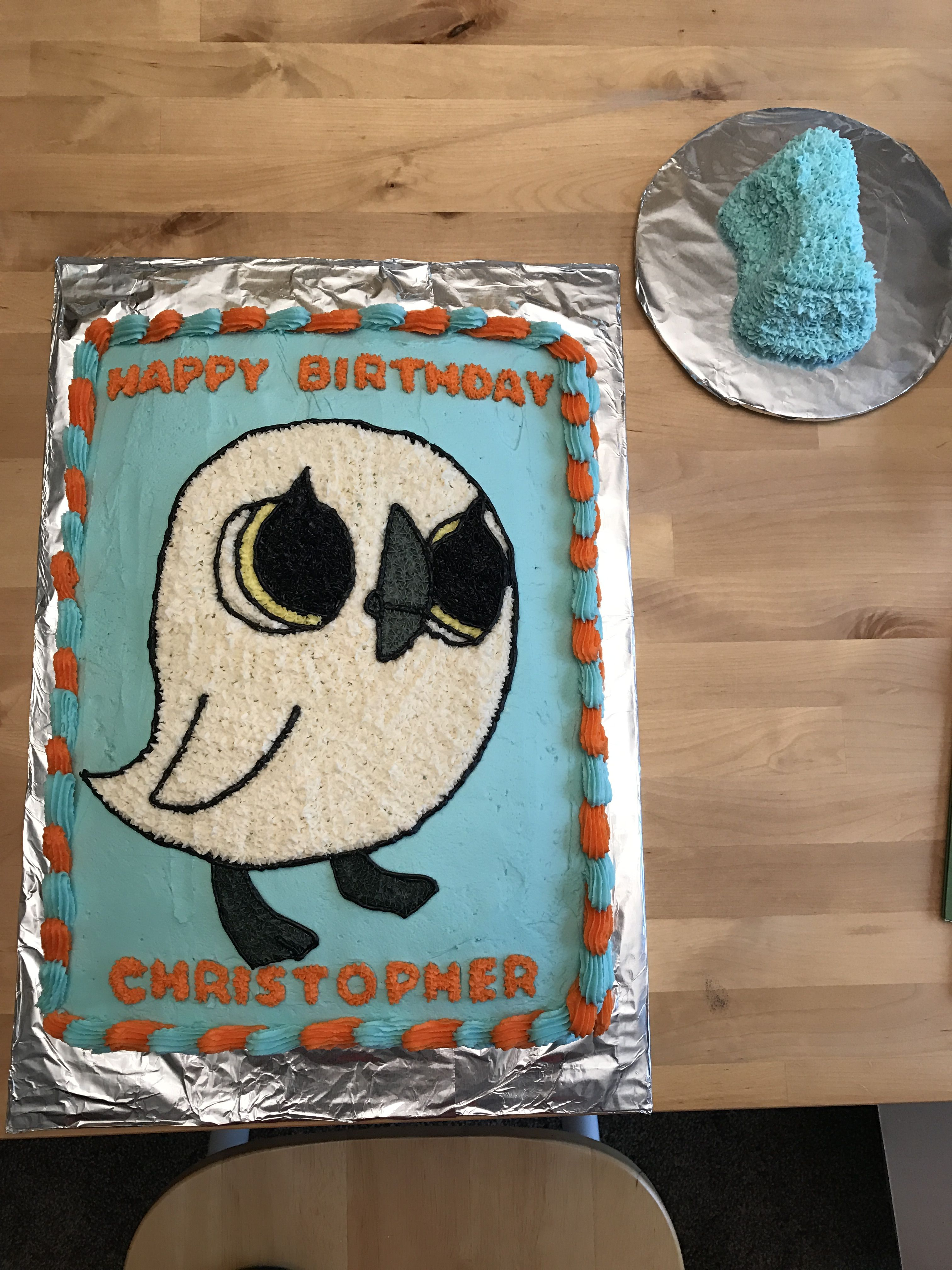 Did a Baba from Puffin Rock cake for my nephew\'s 1st birthday ...