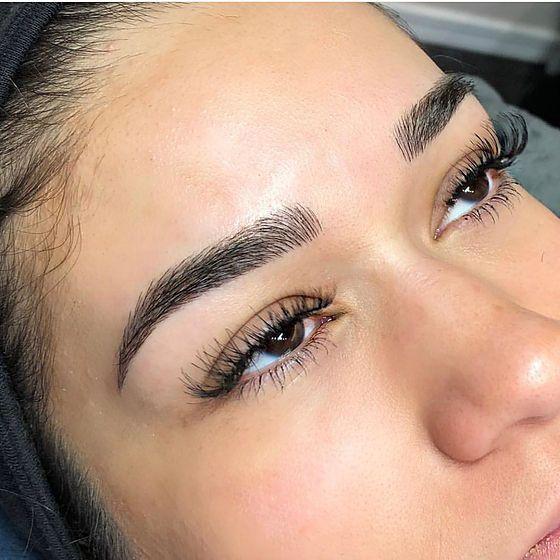 Microblading | Los Angeles | Amani Beauty Bar #perfecteyebrows