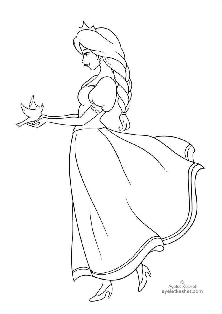 Coloring Pages About Fairy Tales For Kids V Roce 2018 Kresleni