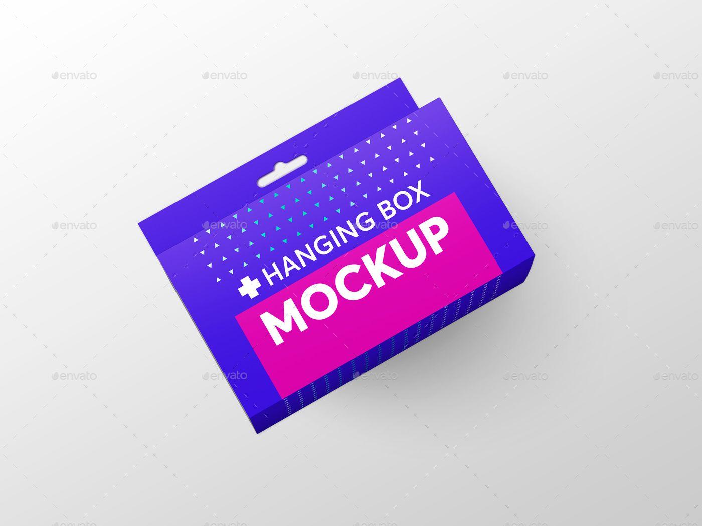 Download Hanging Rectangle Box Mockups V 2 Box Mockup Box Packaging Design Graphic Design Tutorials