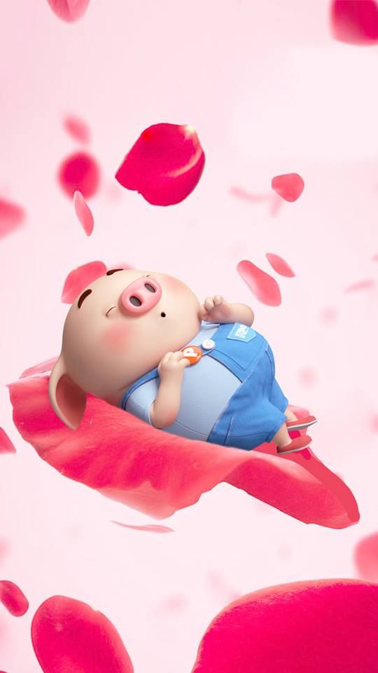 30 hình nền con lợn hồng ủn ỉn tý hon tinh nghịch dễ thương