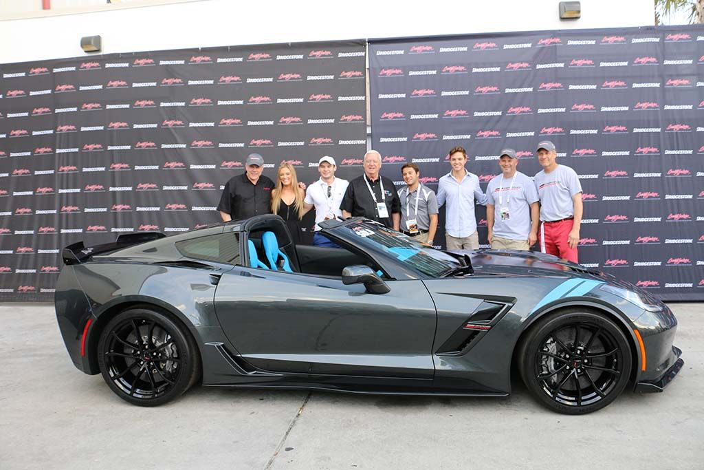 First Vin 001 2017 Corvette Grand Sport Collector S Edition Sells For 170 000 Corvette Sales News Lifes Corvette Grand Sport Corvette Chevrolet Corvette