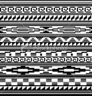 Native American Tribal Beading Patterns   Seamless - Native