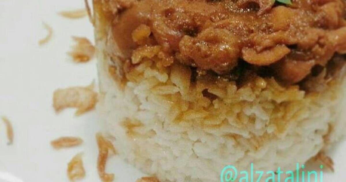 Resep Nasi Tim Ayam Cincang Oleh Almira Zatalini Recipe Food Recipes Cooking Recipes
