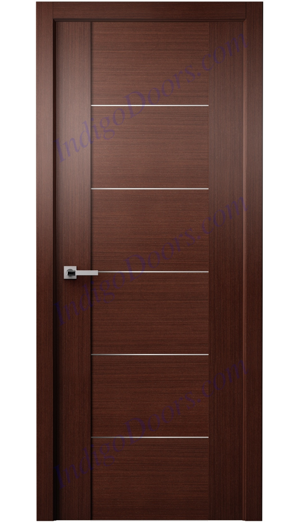 Gardi Interior Door Wenge  Indigo doors  Wooden front door