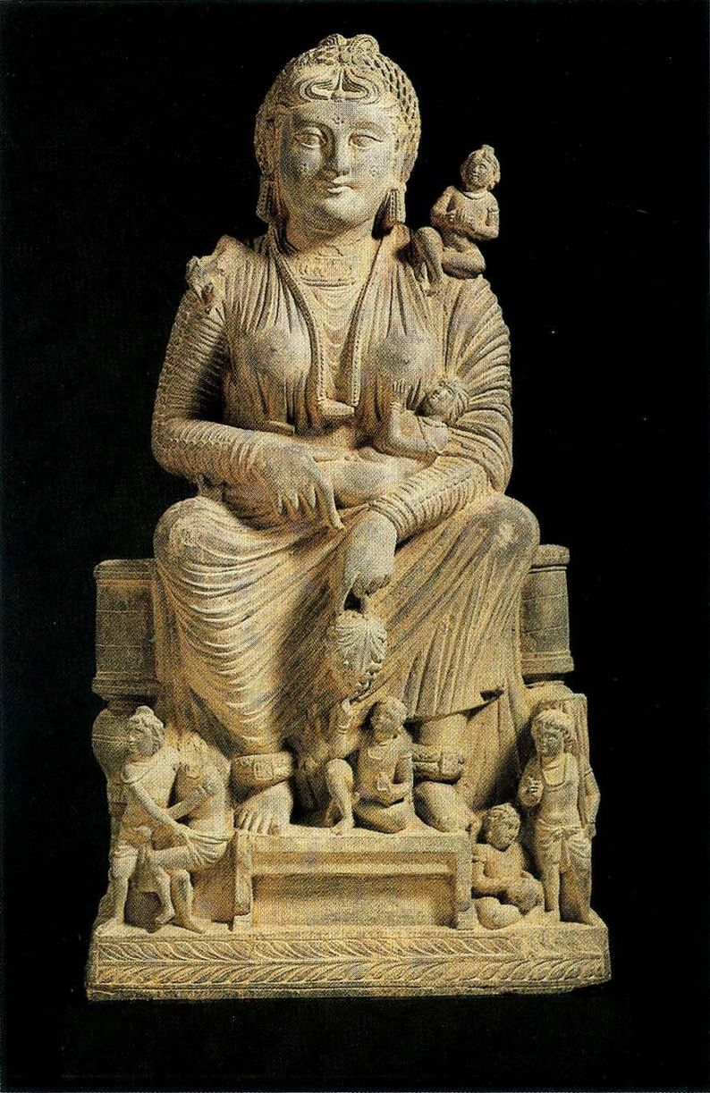 Gandhara (meaning 'the land of fragrance') Buddhist Art