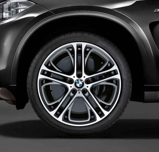 Bmw X6 Rims: BMW X6, M Light-alloy Wheels, Double-spoke 310 M