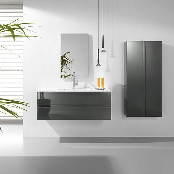 Ensemble meuble salle de bain design bento haut de gamme Espagnol - Meuble De Salle De Bain Sans Vasque
