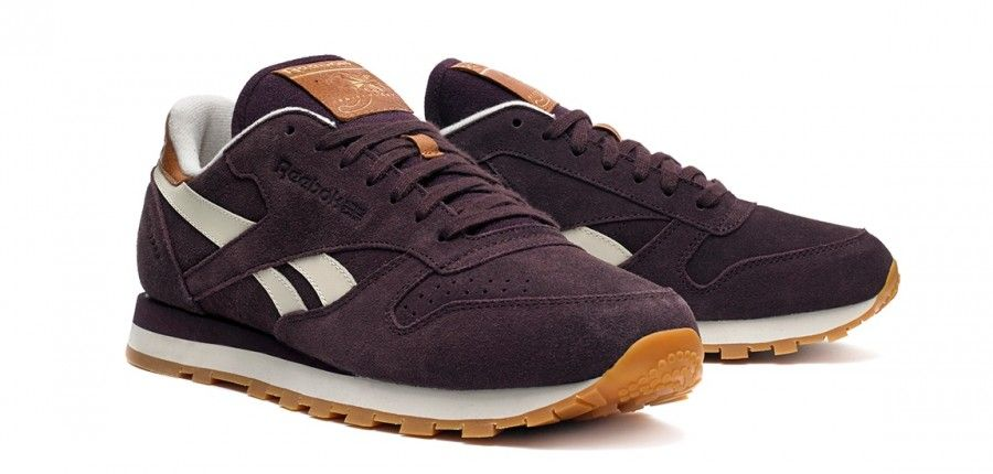 reebok leather suede