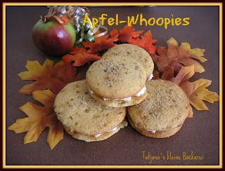Apple-Whoopies Apfel-Whoopies