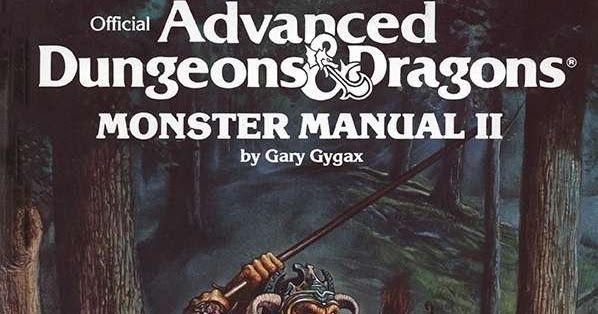 Monstrous Monday Review Monster Manual Ii Manual Guide