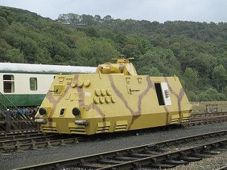 The Steyr armoured train 11Oct13