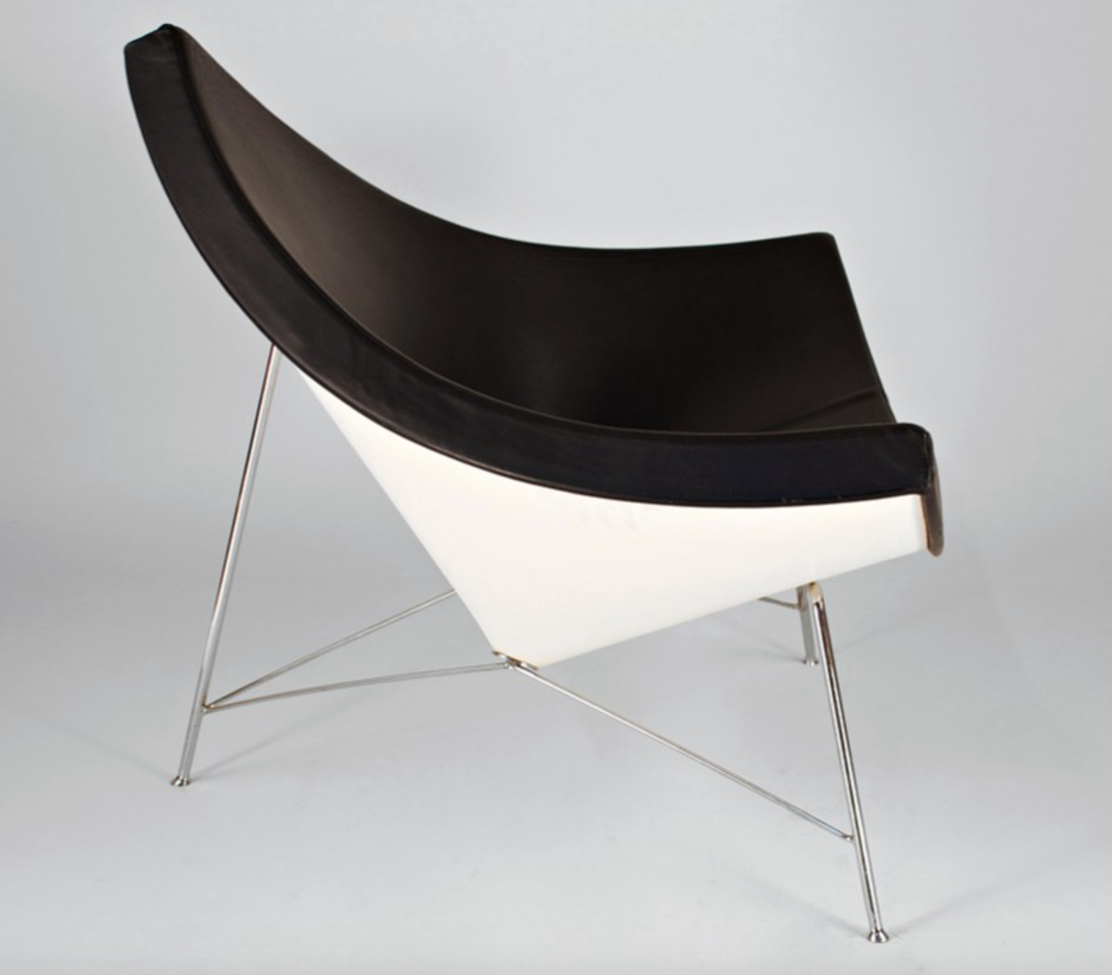 Inspired by the coconut shell george nelsons coconut chair has a very light air despite its
