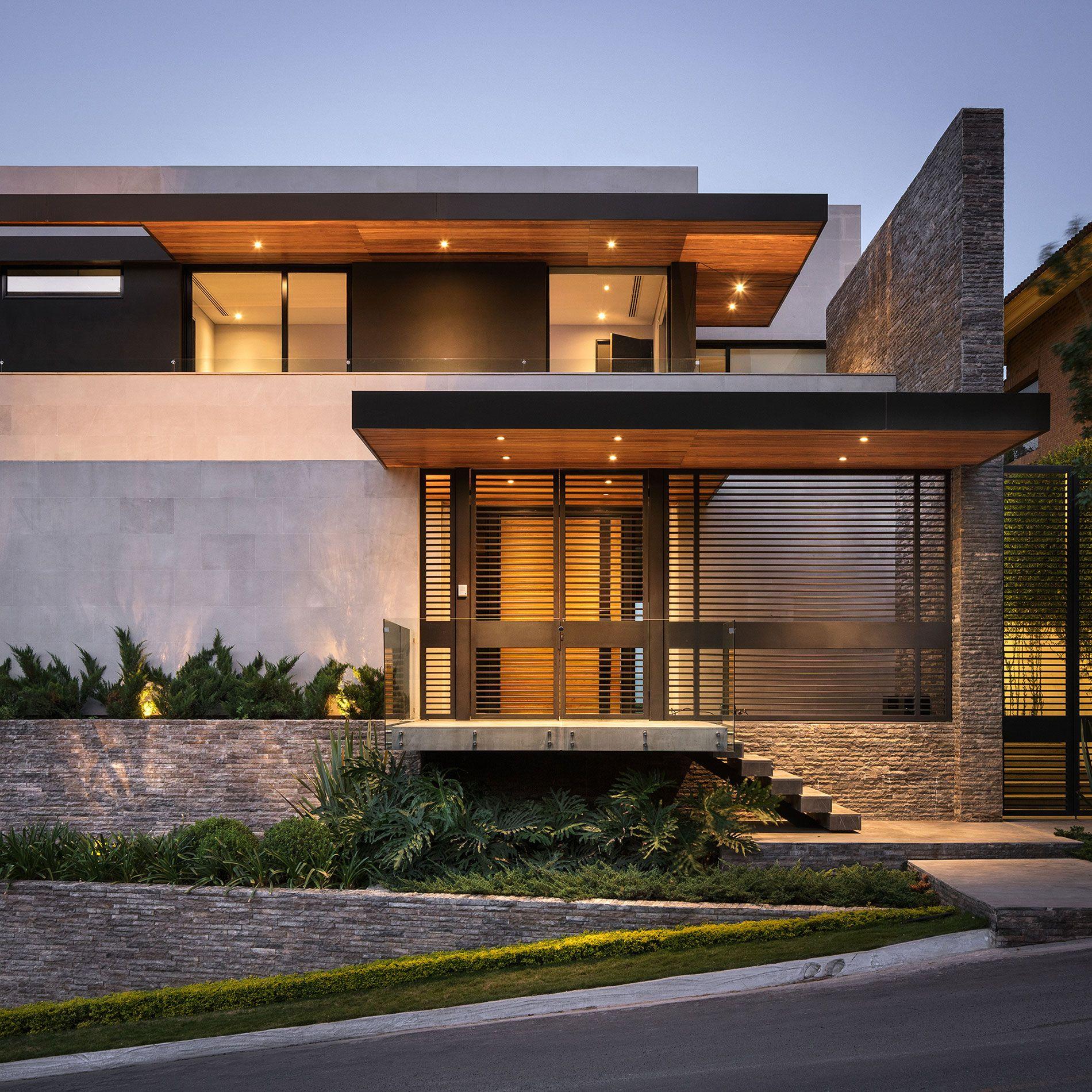 Modern house design Pozas Pin by