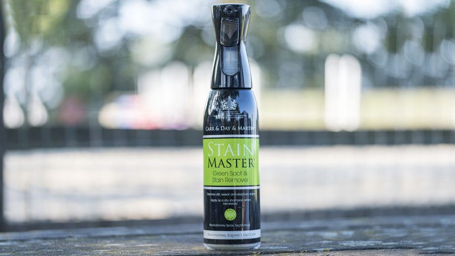 Carr&Day&Martin Stain Master Green Spot Remover review   Horse & Hound