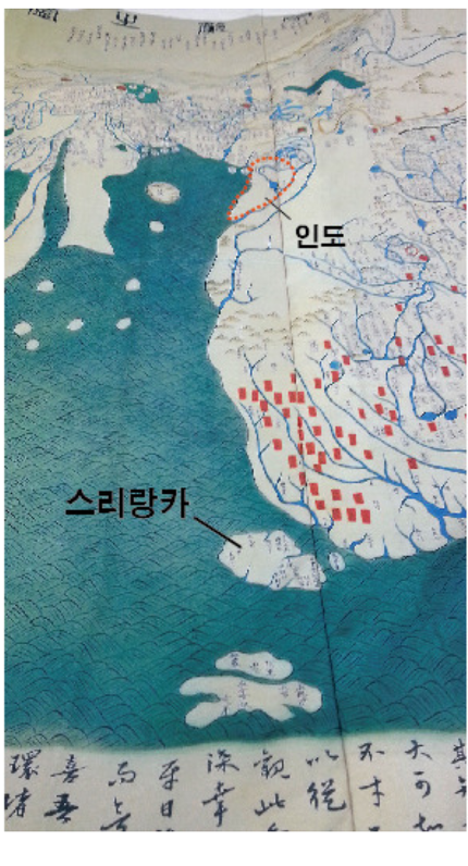 조선시대에 만들어진..역사상 최초의 세계지도..jpg 커뮤니티 세계지도, 역사 교육, 역사