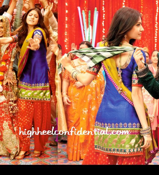 In Character High Heel Confidential Bollywood Outfits Band Baaja Baraat Bollywood Celebrities