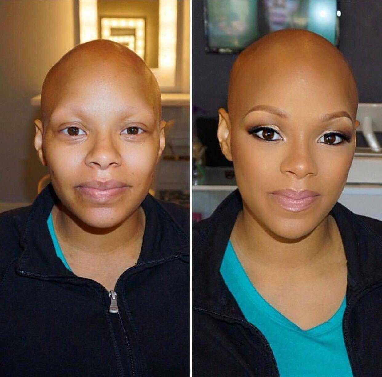Transformation make up black girl make upblack girl are
