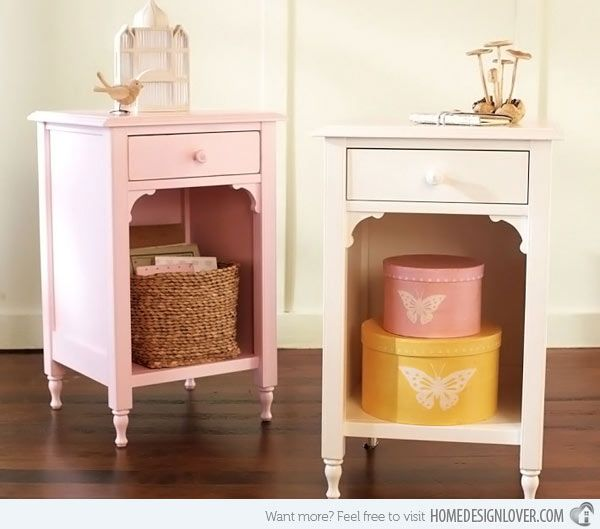 Kid S Bedroom Furniture Small And Useful Bedside Tables With