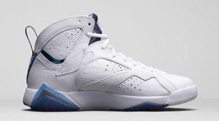ca831ad3c027c8 Nike Air Jordan 7 VII Retro White French Blue SZ 9 deadstock  fashion   clothing  shoes  accessories  mensshoes  athleticshoes (ebay link)