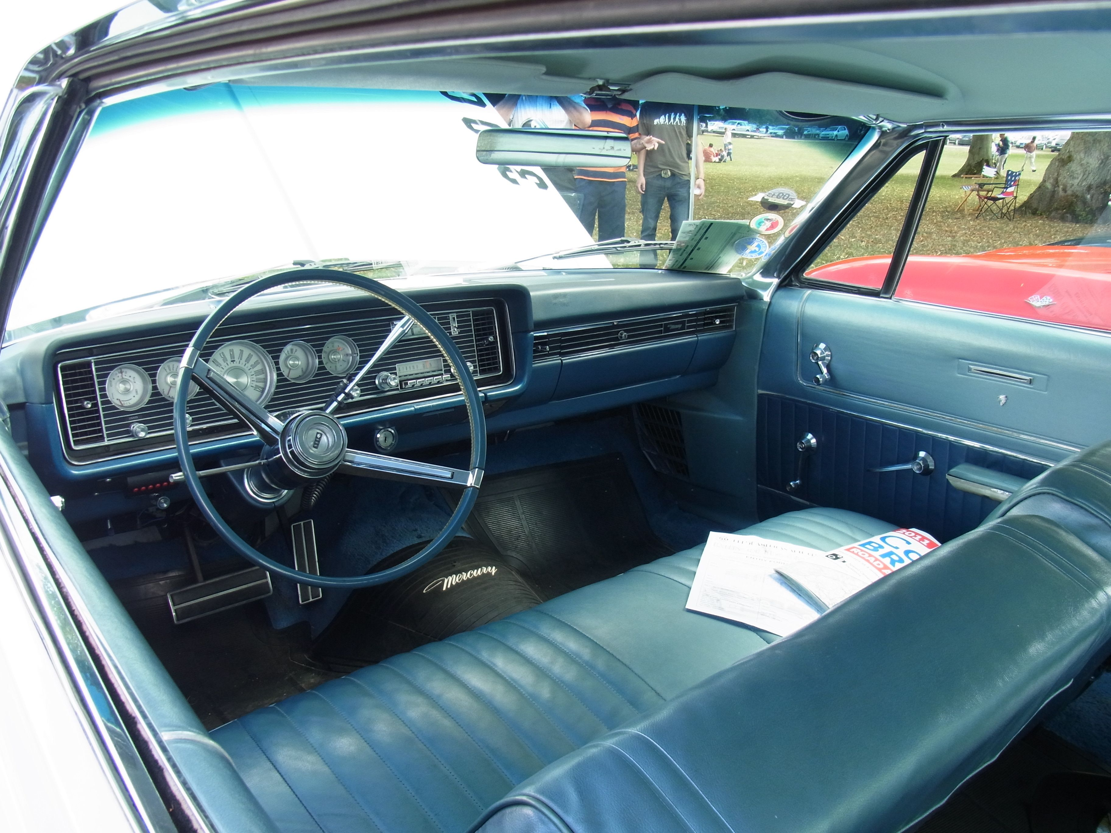 interior of a mercury rallye of the giants pinterest car interiors and cars. Black Bedroom Furniture Sets. Home Design Ideas