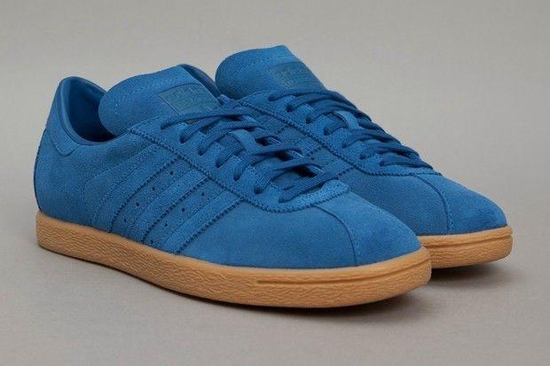 Adidas Tobacco 'Lone Blue' suede