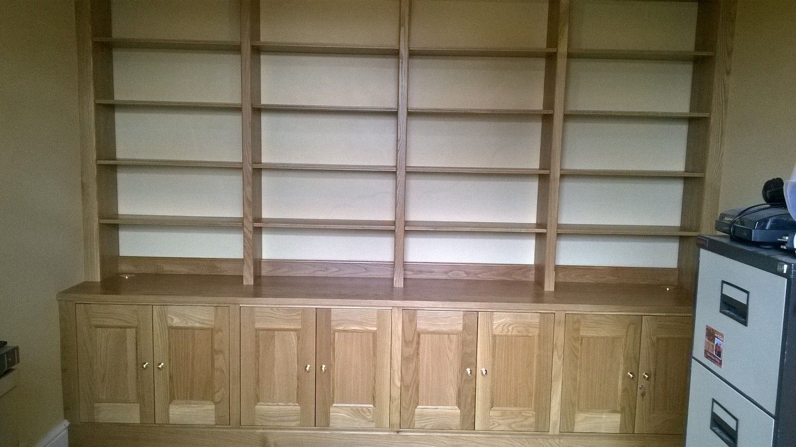 home office bookshelves. Home Office- Fitted Bookcase By Cabinet Maker \u0027Gill Martinez\u0027 Manchester, England. Office Bookshelves R