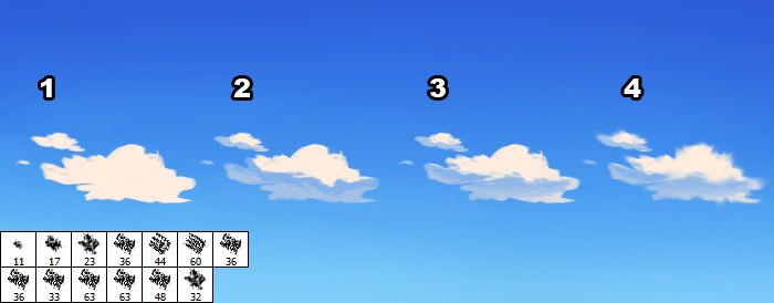Simple Anime Cloud Cloud Tutorial Simple Anime Clouds