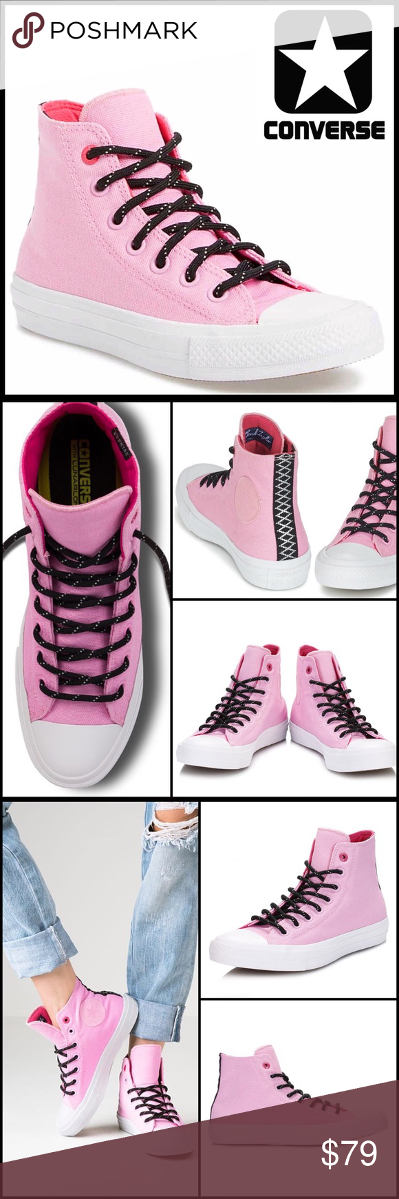 e68b3bc0f27c9f ❗️1-HOUR SALE❗️CONVERSE STYLISH High Tops CONVERSE STYLISH SNEAKERS Water  Repellent Shield Hi-Tops SIZING  UNISEX
