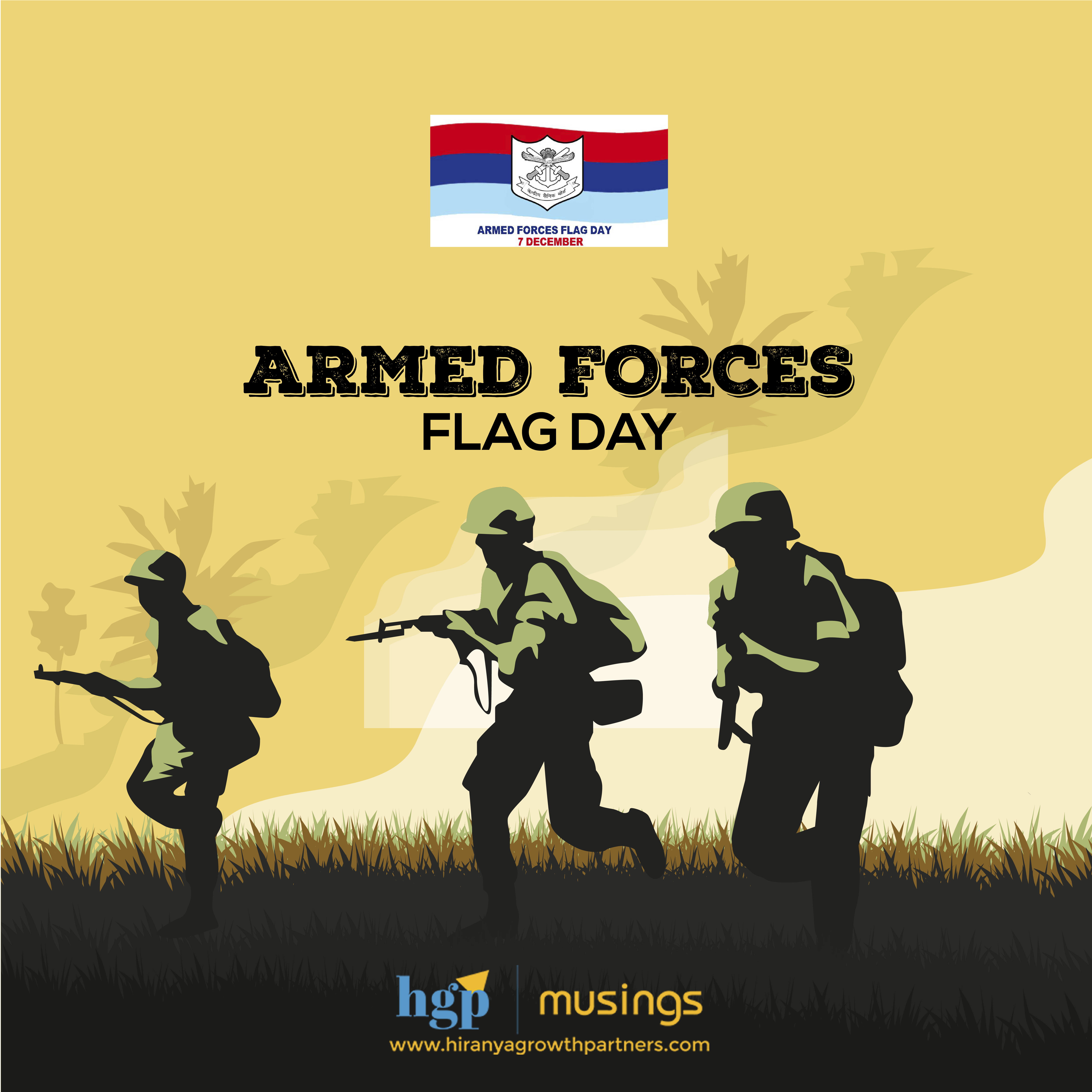 Armed Forces Flag Day A Day To Salute Our Brave Soldiers Who Protect Us And Also To Contribute To The Welfare Armed Forces Flag Day India Facts Armed Forces
