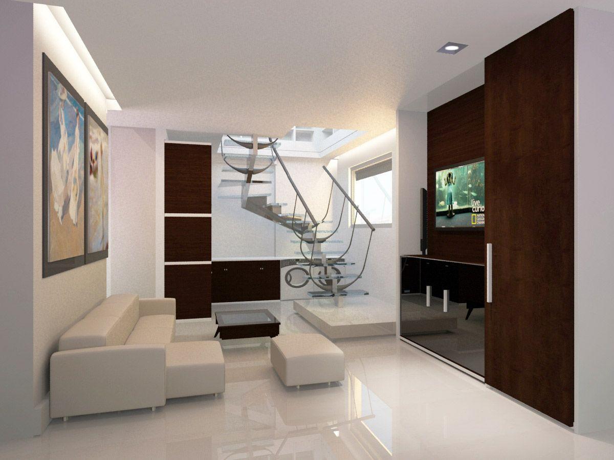 Los pisos inferiores tienen espacios reservados para el descanso y el relax. #Descanso #Relax #Duplex