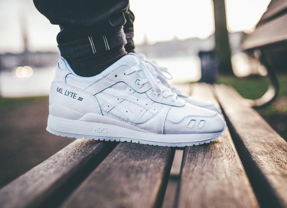 asics gel lyte 3 pure white release date
