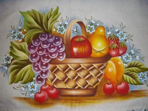 Pintura em tecido artespecial pin clerimar de oliveira - Pintura para decoupage ...