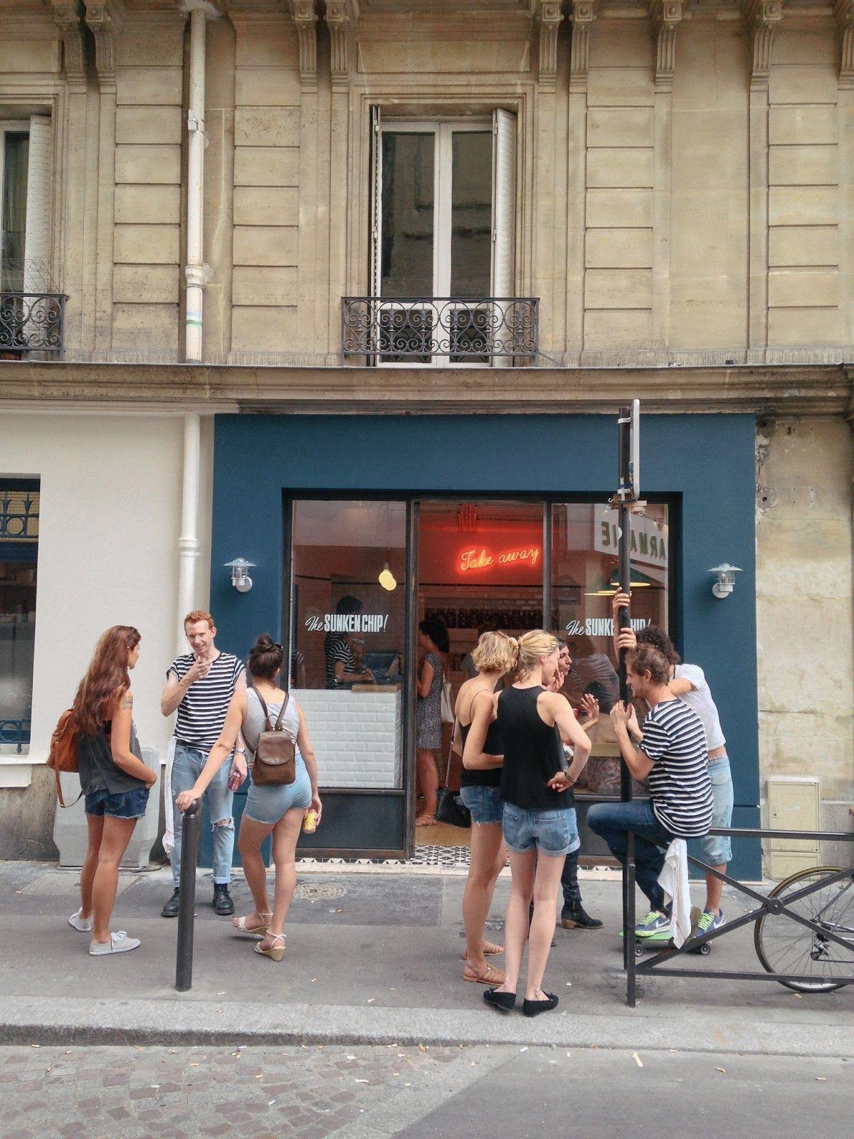 the sunken chip // paris Paris, France travel, Paris france