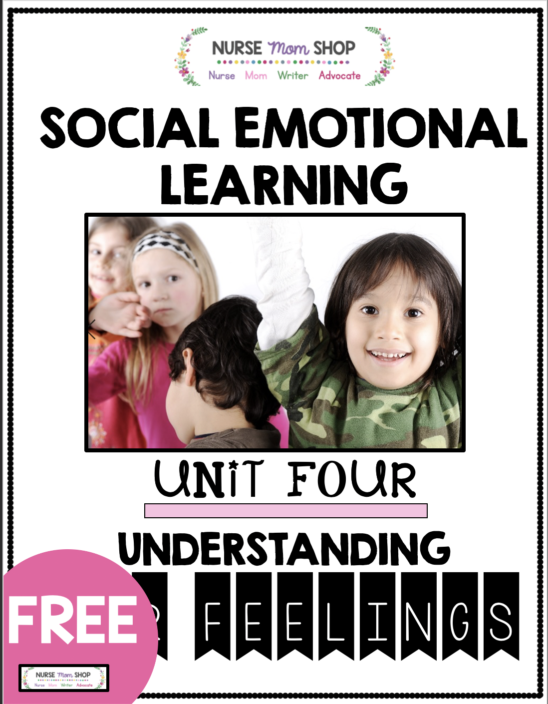 Freebie Understanding Our Feelings In