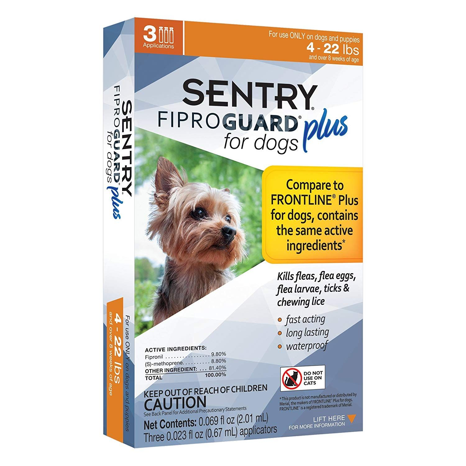 Sentry Fiproguard Plus Dog Flea And Tick Spot On To View Further For This Item Visit The Image Link This Is An Affili Dogs And Puppies Fleas