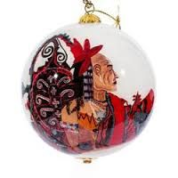 Image result for reverse painted christmas balls